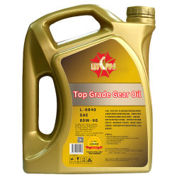 Top Grade Gear Oil API Gl-5 80W-90 with High Quality, Lubricating Oil for Automobile