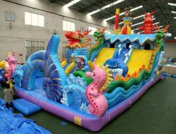 Inflatable PVC Toy Tarpaulin for Jumper