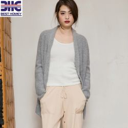 Women s Wool and Angora Sweater Cardigans Soft Knitted Coat Design for  Ladies 5d056ffcd