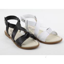 50f81e4243c45f Hot Selling Fancy Kids Leather Sandals Girls School Sandals