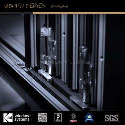 Australian Standard High-End Aluminum Bi-Folding Door with Double Glazed Glass