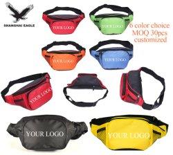 Wholesale Fashion Neon 600d Oxford Custom Logo Outdoor Fitness Travel Sport Belt Waist Bag, Waterproof Clear Designer Fanny Pack for Running