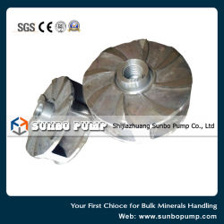 SA05 Casting Impeller Spare Parts for Centrifugal End Suction Slurry Pump