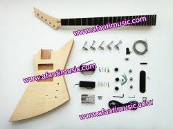 Afanti Music / Explorer Electric Guitar Kit / DIY Bass Kit (AEX-097K)