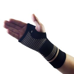 Copper Fibre Weaving Sports Wrist and Hand Protection for Sprain Prevention