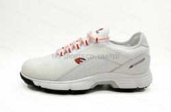 Golf Shoes Full Grain Leather and Quick Lacing and Membrance Sock Waterproof Technology +Memory Foam Insole+ Softspikes TPU Golf Sports Shoes