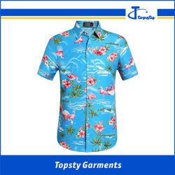 577a29482 Wholesale Guangzhou Stylist Slim Fit 100% Cotton Hawaiian Full Printed  Shirts