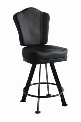 Modern Faux Leather Poker Gamble Casino Chair with Back (FS-G8010D2)