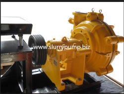 High Head Mineral Processing Horizontal Suction Centrifugal Slurry Pump