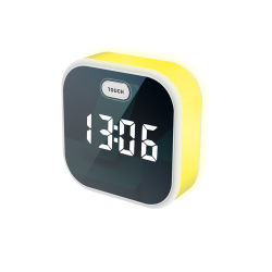 Wholesale Small Cute Color-Changing Soothing LED Night Light Decorative Table Sunrise Clock for Children