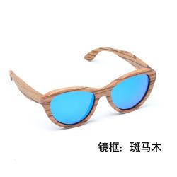 262100fd28 Wholesale Fashion Polarized UV400 Promotional Color Party Wooden Sunglasses