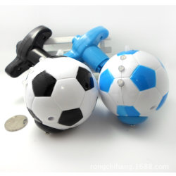 Wind up LED Football Spinning Top with Light and Music