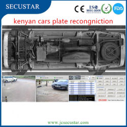 Kenyan Under Vehicle Inspection System with Plate Reading Function