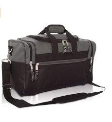 "Durable 17"" Gym Bag Travel Size Sports Duffle Bag"