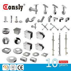Stainles Steel Raiing Accesscory/ Saddle for Handrail Pipe