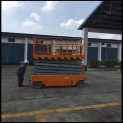 300kg Fully Powered Electric Small Scissor Lift
