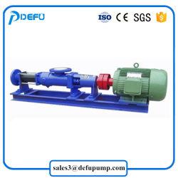 High Viscosity Sewage Slurry Transfer Single Screw Sludge Pump