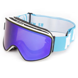 28b44a53aa Fashion Mirror Coting Magnetic Exchangeable Snow Goggles with OEM and ODM  Design