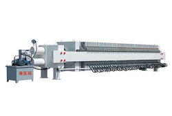 Sludge Dewatering System of Chamber Type Press Filter