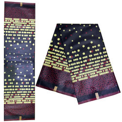 Bright-Colored Print Polyester Wax Fabric