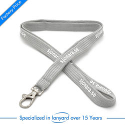 Custom Logo Printed Polyester Badge Strap Neck Ribbon Mobile Phone Badge Printing Woven Sublimation Nylon Lanyard with Keychain ID Card Holder Promotion Gift