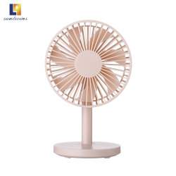 Four Colors 2.6W/3.1W/4W USB Electric Table Portable Rechargeable Fan