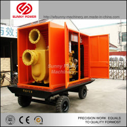 Cummins Diesel Engine Slurry Pump with High Pressure