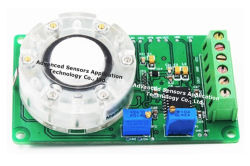 Electrochemical Ozone O3 Gas Detector Sensor Toxic Ambient Gas Monitoring