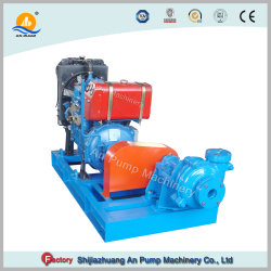 Abrasion Resistant Circulation Mining Slurry Diesel Water Pump