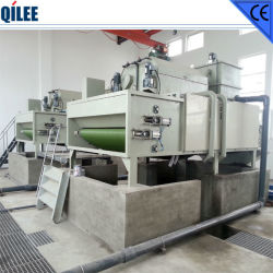Stainless Steel Triple Belt Press Sludge Dewatering System