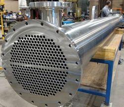 Multitube Industrial Tubular Heat Exchangers