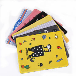 Wholesale OEM Custom Design Printing Cartoon Cute Animals Rubber Gift Promotion Mousepad