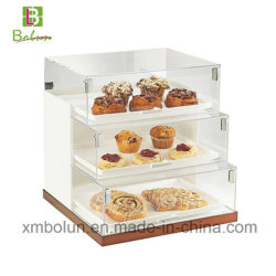 Excellent Quality Best Sell Acrylic Cake Display Cases