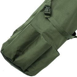 Green Waterproof Camping Unisex Anglers Holdall Fishing Rod Bags