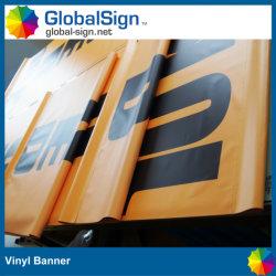 Outdoor Double Sides Printed Digital Printing Vinyl Street Light Flag Banner
