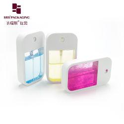 Eco Friendly Material Bamboo Plastic Glass Fine Mist Sprayer Dispenser Pump Empty Perfume Essential Oil Spray Bottle with Aluminum Cap