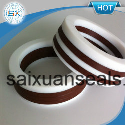 Reinforced Teflon PTFE V Shaped Packing Seal Ring for Mechanical Seal Pump