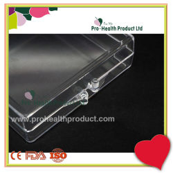 70*70*20mm Wholesale Small Clear Hinge Recycled Packing Plastic Box