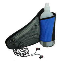 Water Bottle Mesh Neoprene Sports Jogging Holder Waist Bag