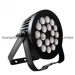 18X18W 6in1 Flat PAR Can LED Wash Effect Stage Outdoor DJ Lighting