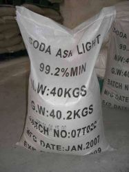 Sodium Carbonate/Soda Ash Light 99% for Detergent Na2co3