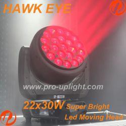 High Power 22X30W RGBW 4in1 Hawk Eye Moving Head LED