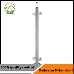 Stair Railing Pillar with Stainless Steel Pipe for Indoor