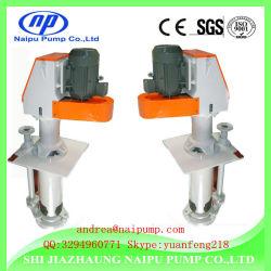 Wear-Resistant Metal Lined Vertical Slurry Pump for Sand or Slurry