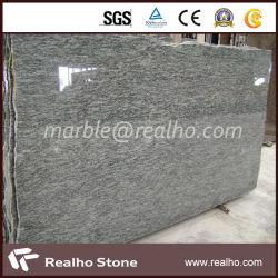Natural Standard Customized Granite Slab Size For Olive Green