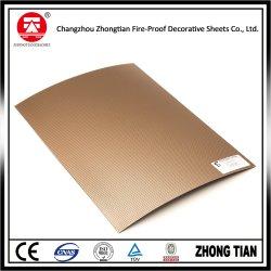 Metallic Aluminum HPL Laminate