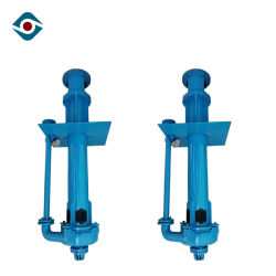 Interchangeable Wear Parts Vertical Slurry Pumps Without Submerged Bearings or Seals