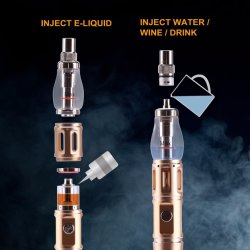 2017 Trending Product Vapioneer H3 Hookah Shisha Electronic Cigarette with Filter Installation Vape Pen Box Mods From China Supplier