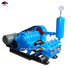 Bw320 Horizontal Double Cylinder Reciprocating Double Action Piston Slurry Mud Suction Pump for Drilling Rig Machine