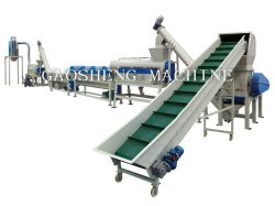 PP/PE Film Washing and Recycling Line